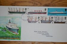 January 1969; First Day PhilArt Cover; British Ships; Excellent Condition