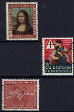 NL2306.BRD 1952-1956. Mi.Nr.148,162 en 227. Gestempeld
