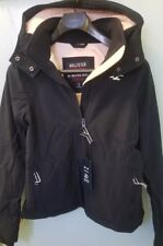 NWT Hollister Women's All-Weather Stretch Fleece-Lined Jacket  Navy size small