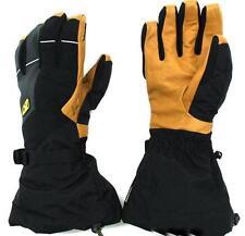 Klim Mens Togwotee Waterproof Breathable Gore-Tex Snowmobile Gloves - Black