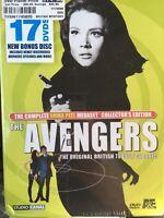 The Avengers Complete Emma Peel Megaset Collector's Ed. 17 DVD Set  NEW Sealed!