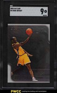 2003 Flair Basketball Kobe Bryant #4 SGC 9 MINT