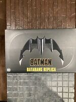NECA BATMAN 1989 1:1 BATARANG REPLICA MOVIE PROP EXCLUSIVE SEALED IN HAND