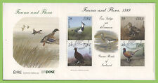 Ireland 1989 Flora & Fauna, Birds m/s on u/a First Day Cover