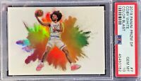 Coby White 2019-20 Panini Prizm Draft Picks Color Blast Case Hit PSA 10 Gem Mint