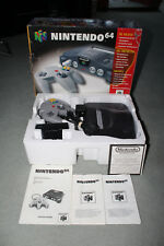 Nintendo 64 Console Boxed With Instructions - NICE CONDITION
