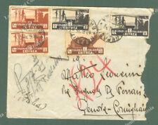 Colonie. ERITREA. Africa Orientale Italiana. Lettera da Nefasit a Genova