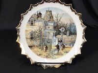 Vintage Gone For Summer by Frank M Hamilton Decorative Collector Plate White