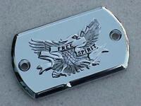 Yamaha V-Star VStar 650 950 1100 1300 CHROME EAGLE BRAKE FLUID CAP