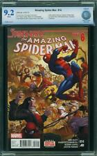 AMAZING SPIDER-MAN ( 2014 3rd Series ) #14  CBCS 9.2  *Spider-Verse*