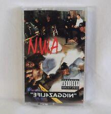 NWA NIGGAZ4LIFE Cassette Tape Gangsta Rap Ice Cube Dr Dre Original 1991