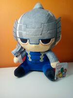 Thor Marvel Avengers Peluche 21 Cm Pupazzo Super Soft con ventosa