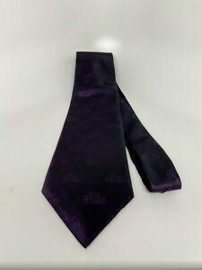 "The Macallan Single Malt Royal Purple Neck Tie | 100% Silk | 4"" Wide | RARE!"