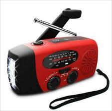 3in1 Emergency Solar Hand Crank Dynamo AM/FM Radio Light Phone Charger Outdoor