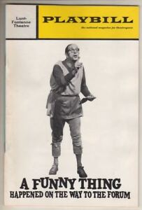 """Phil Silvers  """"A Funny Thing Happened on the Way to the Forum"""" 1972 Playbill"""