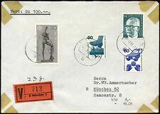 Germania 1974 registrati copertura MUNCHEN #C 18402