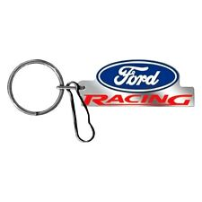 Ford Racing Logo Key Chain with Clip Plasticolor 004228