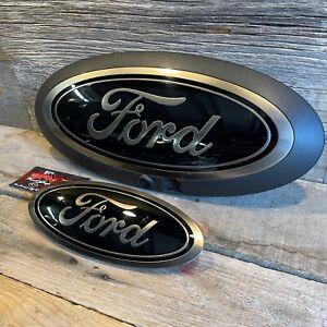 20-22 F250 F350 F450 OEM Ford Superduty Lariat Sport Tremor Front & Rear Emblems