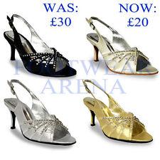 Unbranded Satin Slingbacks Shoes for Women