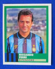 FIGURINA VALLARDI E' IL CALCIO 92/93 - N.127 - FERRI - INTER - new