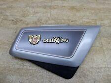 1986 Honda Goldwing GL1200 Aspencade H1100-2. rifht side cover with emblems