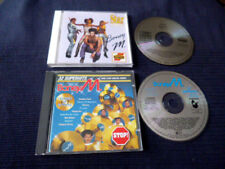 2CD ARIOLA Boney M Star Collection Best Of Greatest Hits & 10 Years NON-Stop MIX
