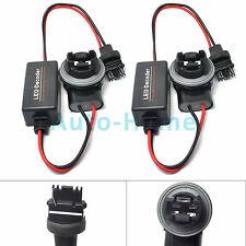 Pair 3156 LED Decoder Adapter Anti Hyper Blinking Flashing Error Free Canceller