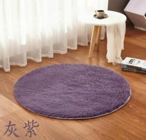 Home Beige Carpets Round Thicken Soft Rugs For Living Room Kilim Aera Rugs Mats