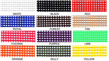 PET MESH VINYL SCREEN FABRIC CHOOSE YOUR COLOR 18 x 36 INCH TOTES BAGS PROJECTS