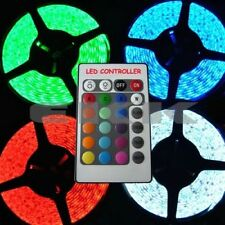 5M 24V Waterproof 5050 SMD RGB 300 LED Strip + IR Controller + Tracking number E