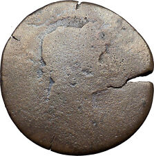 HADRIAN 133AD Lighthouse of Alexandria Wonder of the World Roman Coin  i31156