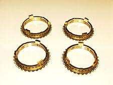 TRIUMPH TR3B, TR4, TR4A, TR5, TR250 & TR6 A SET OF FOUR SYNCHRO RINGS