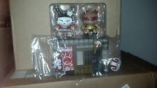 Huck Gee Kabuki & Kitsune Gold Life 2 Pack TAG 11/10 Exclusive Red LE 200 SIGNED