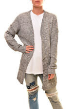 Finders Keepers Women's Knitted Lamar Cardigan Grey Fleck Size S