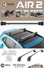 Barres de toit Mitsubishi ASX 2010> transversales Turtle V2 avec serrures E