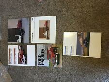 Ford Litho Usa 1993 Pickups & Chassis Commercial 1991 1990 F-Series Trucks
