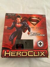 Wizkids DC HeroClix Man of Steel 2-figure Mini-Game Set, NEW