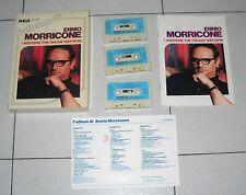 Cofanetto 3 Mc L'ALBUM DI ENNIO MORRICONE - RCA Musicassette Box