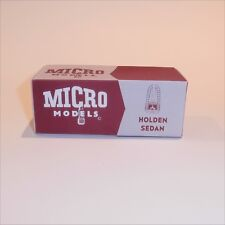 Micro Models GB  9 Holden Sedan (48-215 / FX) empty Reproduction box