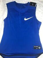 New Nike Vapor Speed Sleeveless Padded Football Shirt Top XL 835345-480 $65