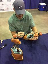 Kirk Cousins signed autographed mini Paul Bunyan Statue Michigan State football