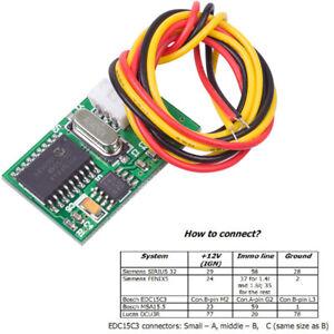 For Renault Immo Immobiliser Emulator ECU Decoder Reset Tool Repair Module +Wire