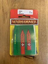 Warhammer Fantasy - Waldelfen / Wood Elves Banners - 1995 - SELTEN - NEU & OVP
