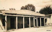 1920s Taos New Mexico Kit Carson House RPPC Real photo postcard 857