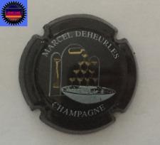 Capsule de Champagne DEHEURLES MARCEL Noir Coupes Or !!!!