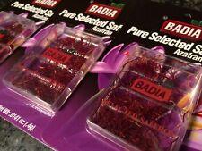 BADIA - Pure Selected Spanish Saffron Net Wt. (.4g) (12 PACKS) - Azafran
