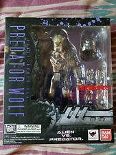 S.H.MonsterArts Alien Vs PREDATOR WOLF HEAVY ARMED Ver(Very Rare)