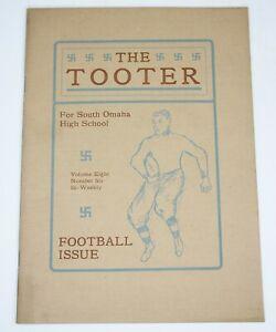 THE TOOTER South Omaha High School, Football Issue, 1911 Nebraska History
