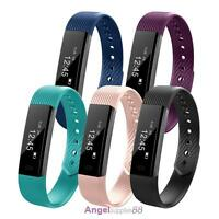 Sport Activity Sleep Tracker Heart Rate Fitness Pedometer Bracelet Smart Watch