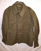 608502d434c Original vintage Czech Republic army M85 field jacket military khaki green  88